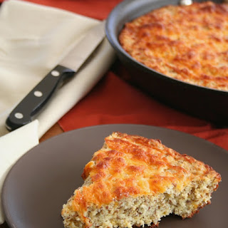 Cheesy Skillet Bread
