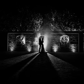 Shadows by Lodewyk W Goosen (LWG Photo) - Wedding Bride & Groom ( wedding photography, weddings, wedding, wedding photographer, bride groom bride and groom, bride, groom )