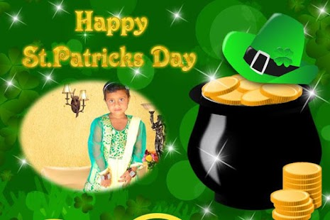 St. Patricks Day Photo Frames - screenshot