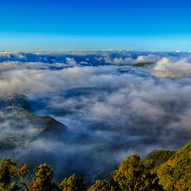 Big Thanks by Charles Mawa - Landscapes Cloud Formations