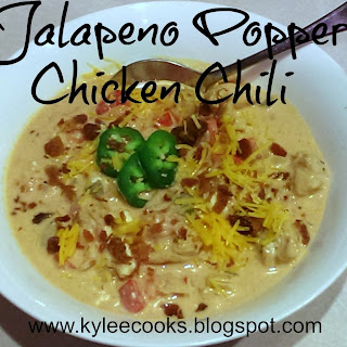 Jalapeno Popper Chicken Chili