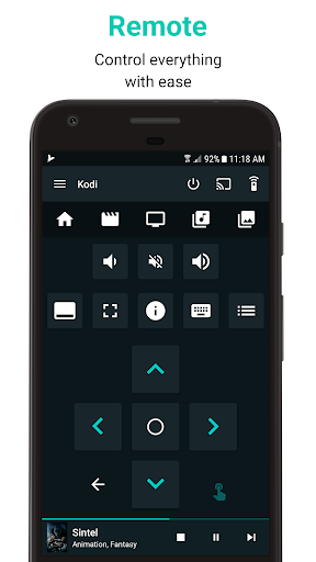Yatse: Kodi remote control and cast