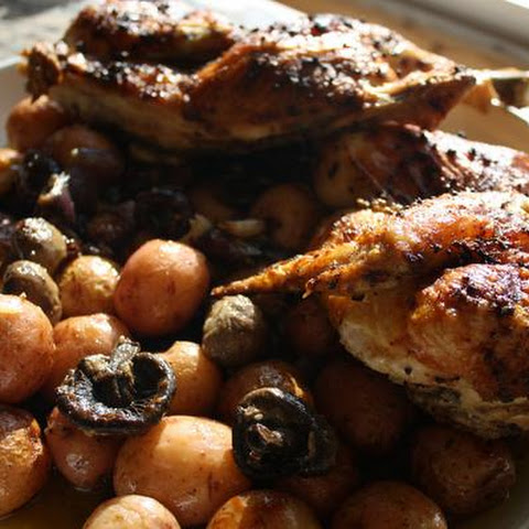 Poulet Grand-Mère (Provencal Roasted Chicken)