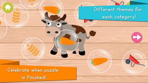Animals Puzzle for Kids For PC