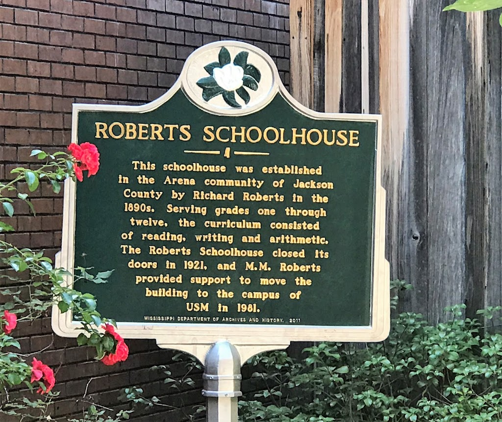 This schoolhouse was established in the Arena community of Jackson County by Richard Roberts in the 1890s. Serving grades one through twelve, the curriculum consisted of reading, writing and ...