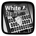 Black and White Keyboard Theme APK for Bluestacks
