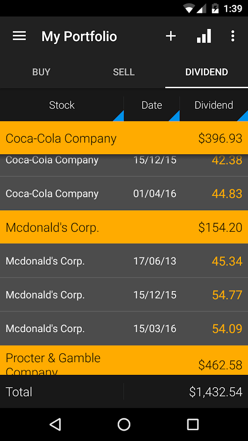 JStock Android - Stock Market Screenshot 6