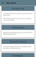 Screenshot of Aussie Tax Calculator Free
