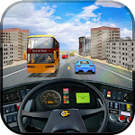 Tourist Bus Highway Driver Sim Icon