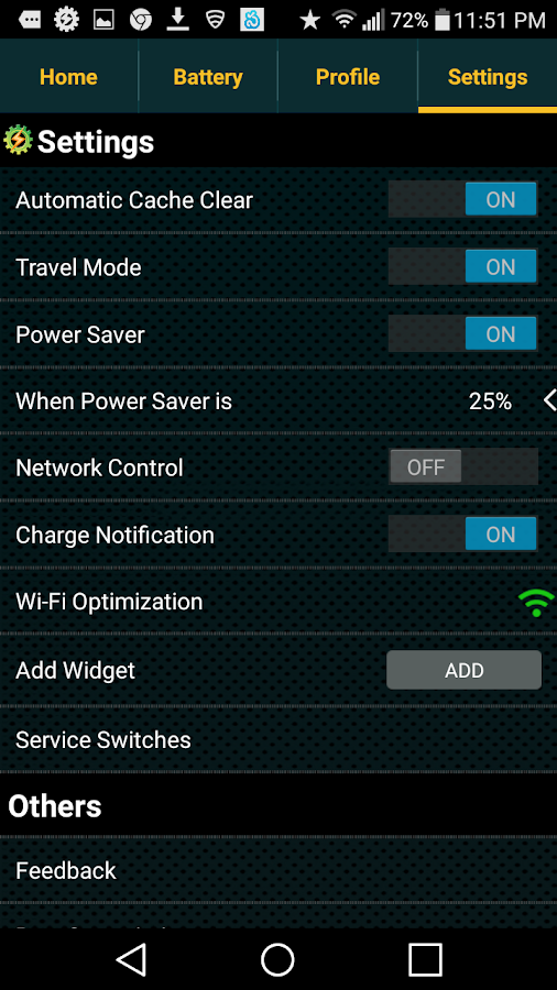 Battery Saver - SMOptimizerPRO Screenshot 4