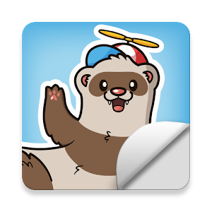 Ferret Stickers by The Modern Ferret For PC / Windows 7/8/10 / Mac – Free Download