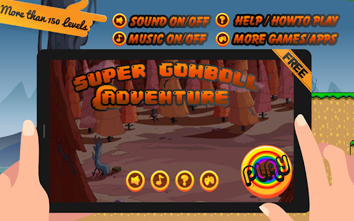 Super Gomboll Adventure - screenshot