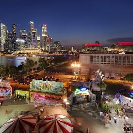 by Ken Goh - City,  Street & Park  Amusement Parks