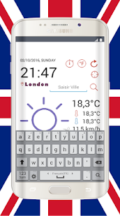 Weather for United Kingdom - screenshot