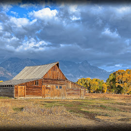 Yellowstone Barn by Will Zook - Buildings & Architecture Public & Historical