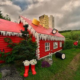 Santa's house by Stanley P. - Buildings & Architecture Other Exteriors ( exteriors, architecture )