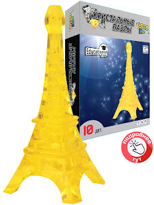 3D Crystal Puzzle Эйфелева Башня M