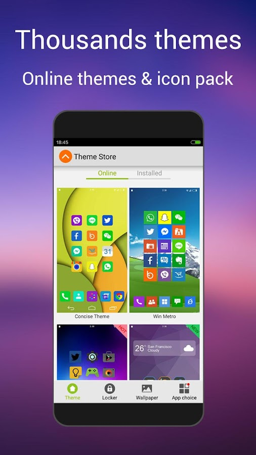 L Launcher -Marshmallow Launch Screenshot 3