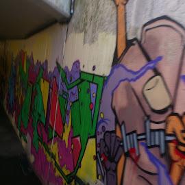 Underground Arts by Wechtitsch Bernhard - City,  Street & Park  Street Scenes