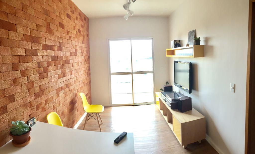 Apartamento com 2 dormitórios à venda, 56 m² por R$ 380.000 - Parque Bom Retiro - Paulínia/SP