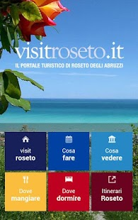 visitroseto - screenshot