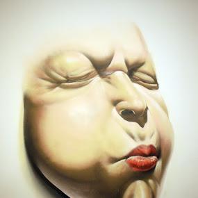 facial expression 2 by Alex D.  Veriga - Drawing All Drawing ( facial expressions, drawing )