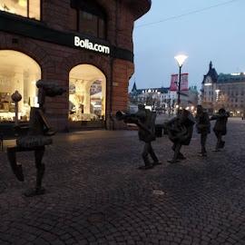 by Gunnar Kasemaa - City,  Street & Park  Street Scenes