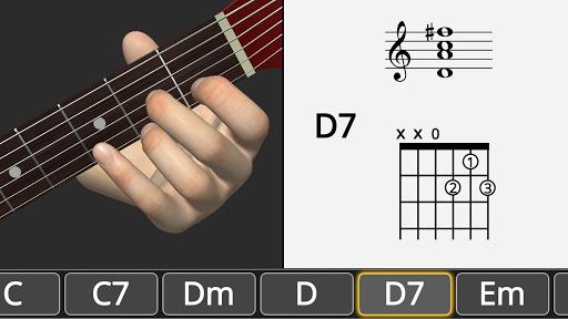 Basic Guitar Chords 3D screenshot 10