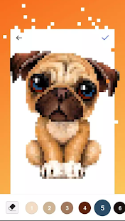 Unicorn Pug - Color By Number & Pixel No Draw for pc