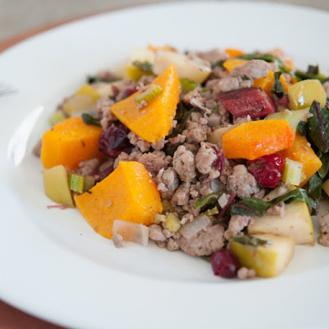 Cranberry Squash Ground Pork
