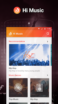 Hi Music - Free Music Player & YouTube Music APK screenshot thumbnail 6