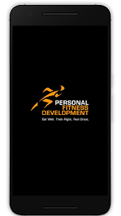 Personal Fitness Development Fitness app screenshot for Android