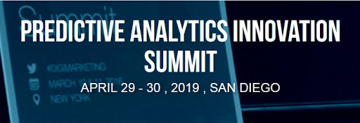 Predictive Analytics Innovation Summit, April 29-30, San Diego