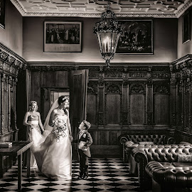 by Pete Bristo MBE  - Wedding Other ( wedding, hazelwood castle )