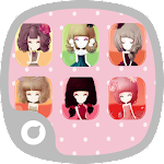 Beautiful Girl Theme APK Image