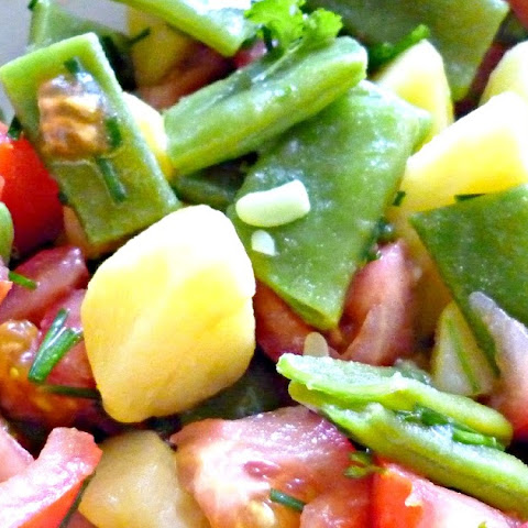 Potato Salad With Green Beans