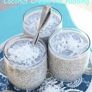Chia Seed Coconut Cream Pie Pudding