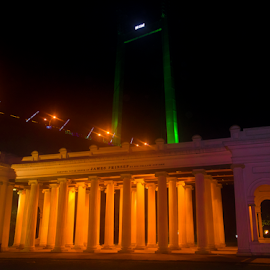 Princep Memorial at night by Anindya Karmakar - City,  Street & Park  Night ( night photography, historical, night shot )