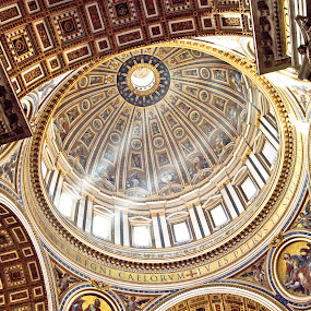 St Peter's Faith by Leanne Kordis - Buildings & Architecture Other Interior ( religion, church, faith, rome, peter, st, vatican, italy )