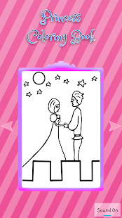 Coloring Book - Princess Kids - screenshot