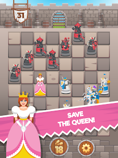 Knight Saves Queen