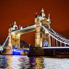 The Iconic symbol of London ~ Tower Bridge by Kyen Ang - Travel Locations Landmarks