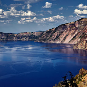 Crater Lake, Oregon by Peter Cheung - Landscapes Mountains & Hills