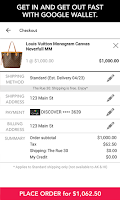 Screenshot of Rue La La-Shop Designer Brands