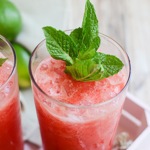 Watermelon Mint Margaritas