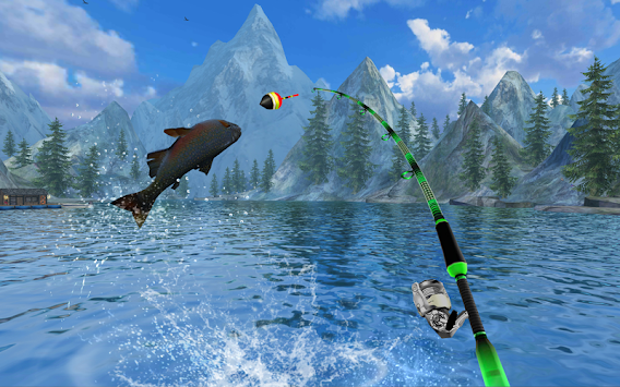 Ace fishing vr apk 1 0 3 free sports games for android for Fishing vr games