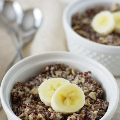 Vegan Quinoa Hot Breakfast Cereal