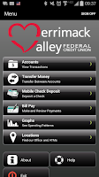Screenshot of Merrimack Valley FCU