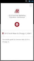 Screenshot of American Marketing Association