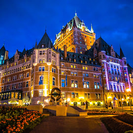 Château Frontenac Hotel, Quebec City by Dmitriy Andreyev - Buildings & Architecture Office Buildings & Hotels